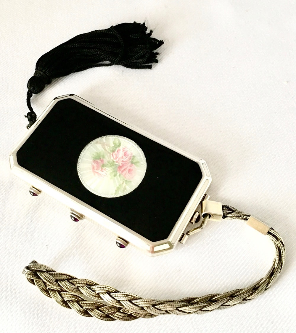 1930's American Sterling Silver Compact